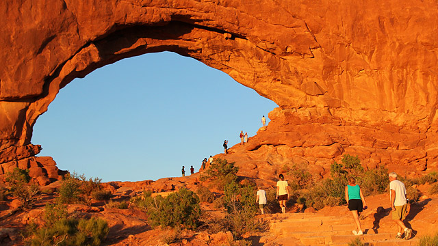 Welcome to Arches National Park